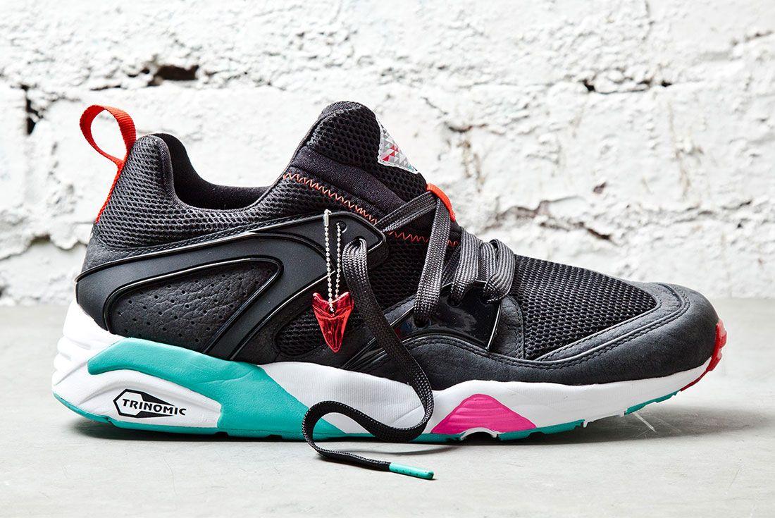 Puma Sneaker Freaker Shark Black 1 Side