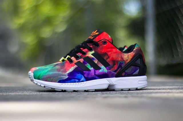 Adidas Zx Flux Water Colour 3