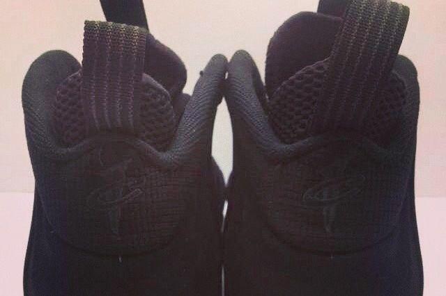 Nike Air Foamposite One Black Suede 04