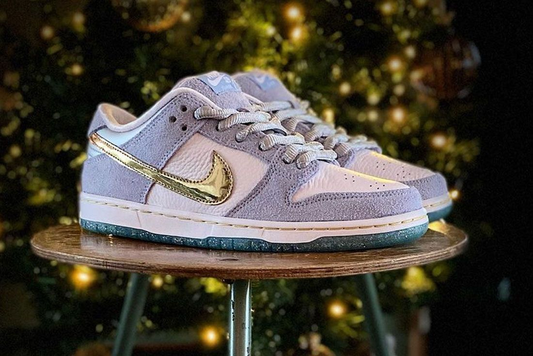 Sean Cliver Dunk Low 'Holiday Season'
