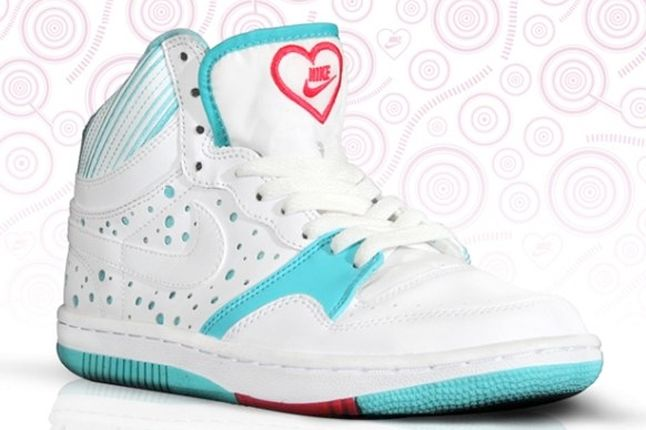 Nike Court Force One Valentines 1