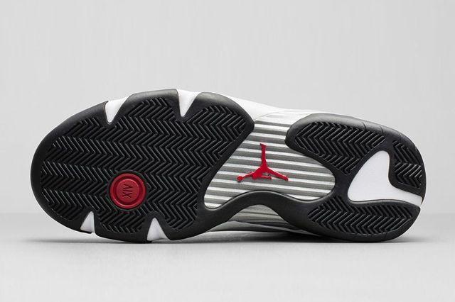 Air Jordan 14 White Black Og Retro Bump 7