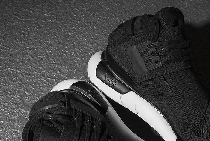 Og Adidas Y3 Qasa Black 3