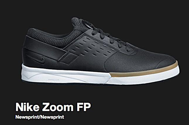 Nike Newsprint Sb Zoom Fp 2010 1