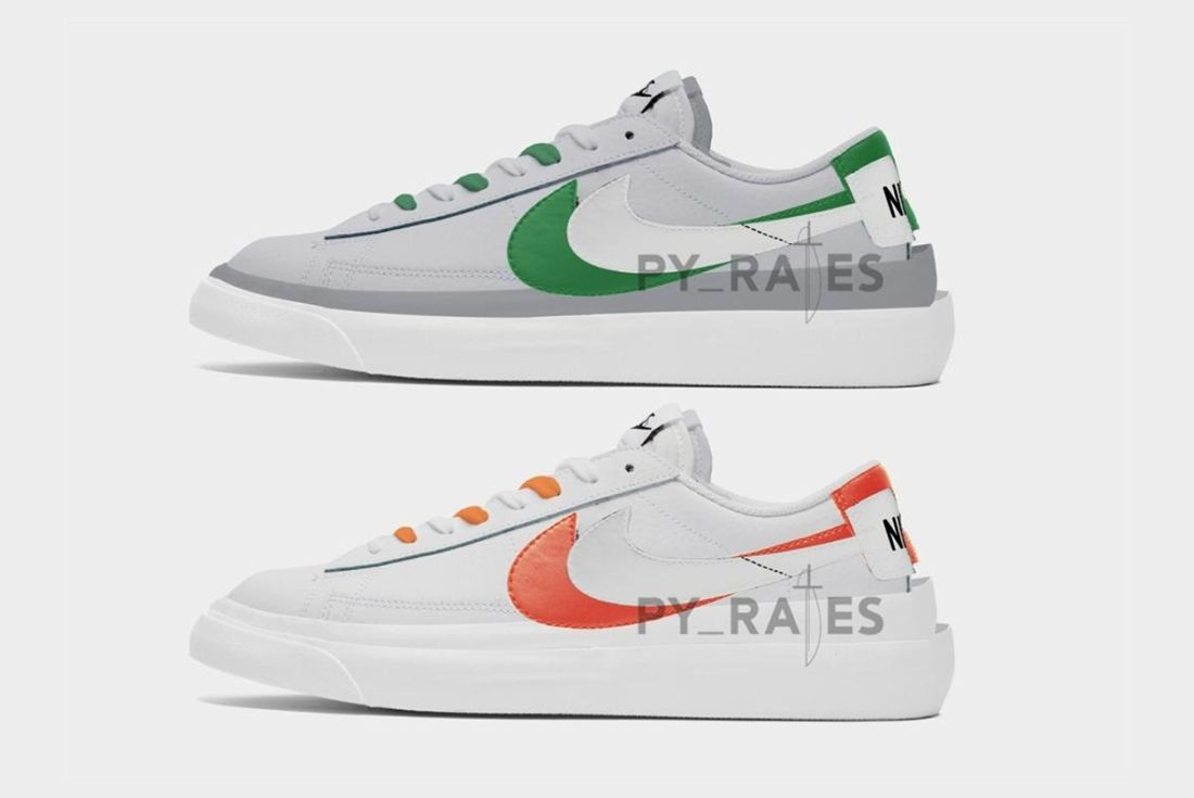 Sacai Nike Blazer Low Left