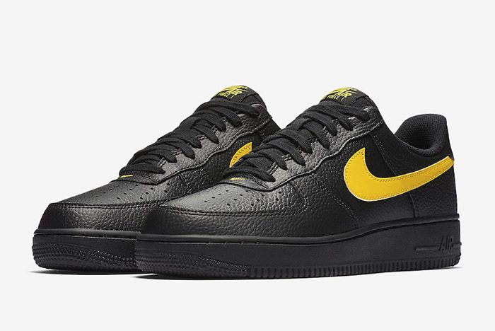 Nike Air Force 1 07 Lv8 Black Amarillo 6