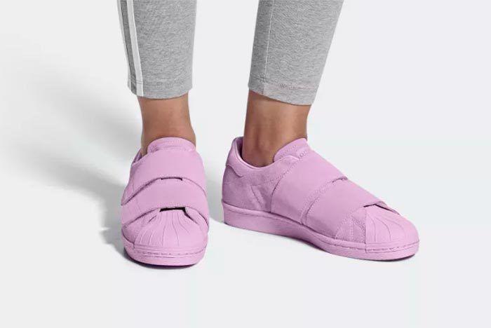 Adidas Superstar 80S Cf Clear Lilac 1