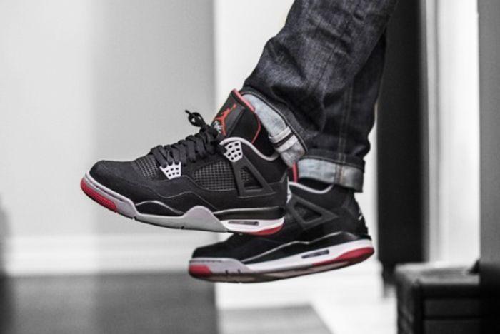 Jordan 4S Breds Blue Jeans