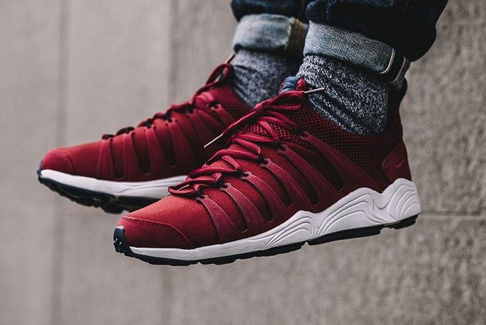 Nikelab Air Zoom Spirimic Red On Foot Thumb