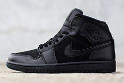 Air Jordan 1 Triple Black Thumb