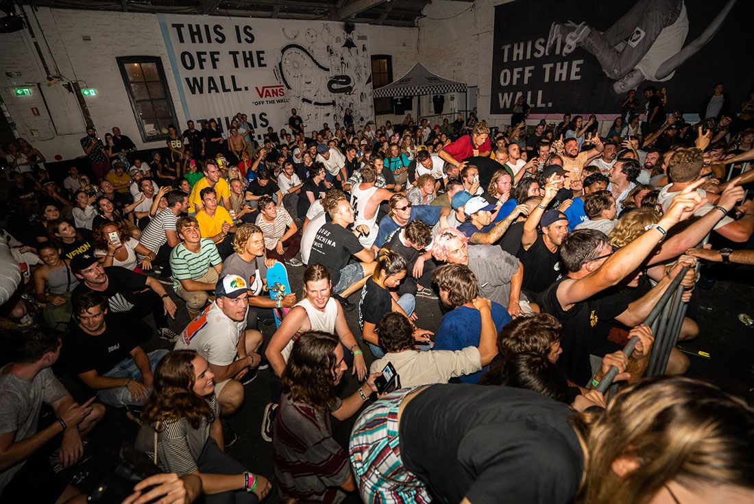 Sydney House Of Vans Crowd2