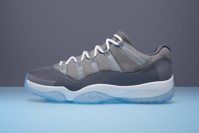 Air Jordan 11 Cool Grey Low 7