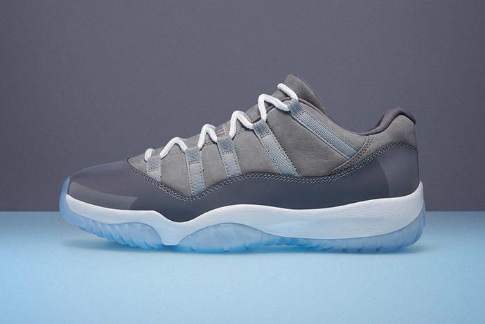 Air Jordan 11 Cool Grey Low 7