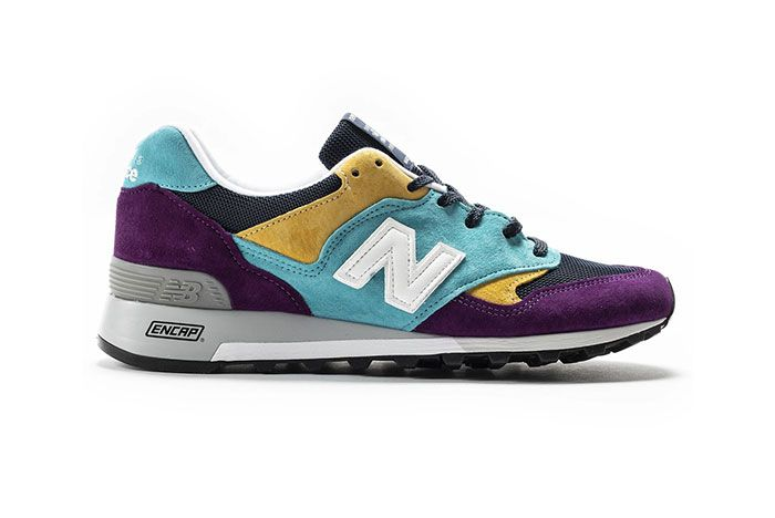 New Balance 577 Made In England Purple Blue Yellow Black Lateral