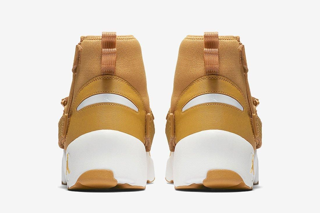 Air Jordan Trunner Lx High Golden Harvest Wheat Brown 3