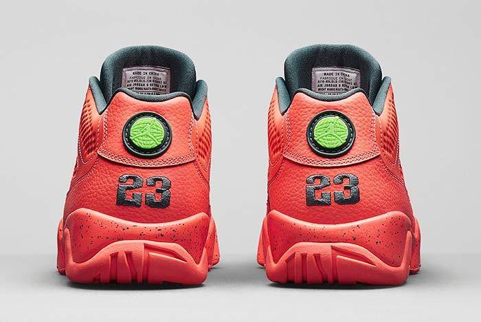 Air Jordan 10 Retro Low Bright Mango Medial 4