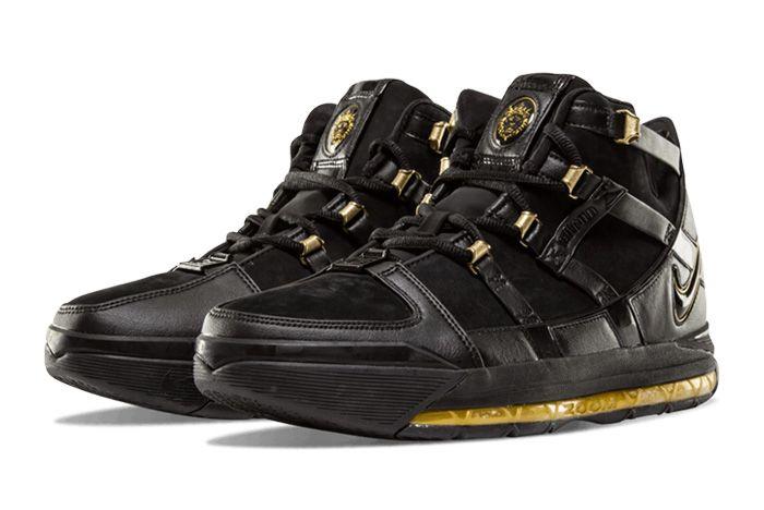 Nike Zoom Lebron 3 Black Gold Sneaker Freaker 1