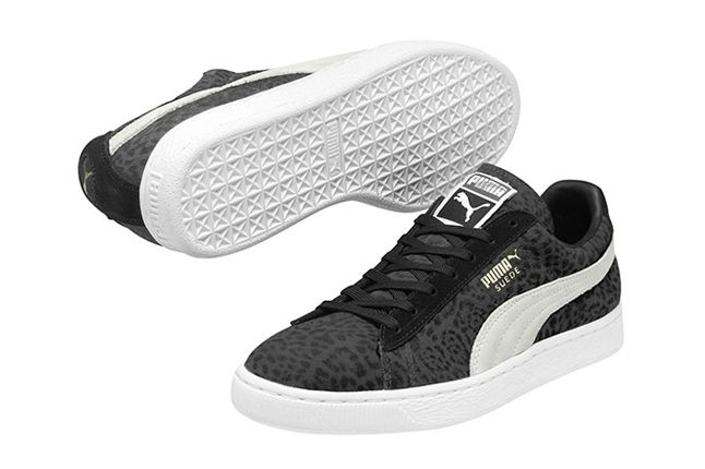 Puma Suede Animalier Collection Fall Winter 2013 Black 1