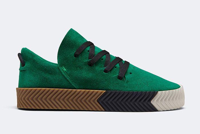 Alexander Wang Adidas Aw Skate Emerald Green 1