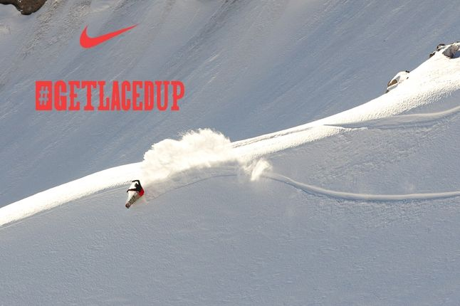 Nike Snowboarding Get Laced Up 1