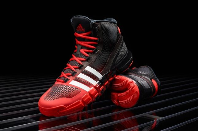 Adidas Crazyquick Black Redwhite Hero 1
