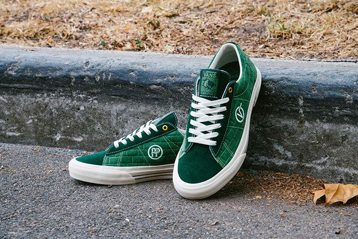 Vans Pass Port Sid Pro Bomber Pack Green Red Pair9