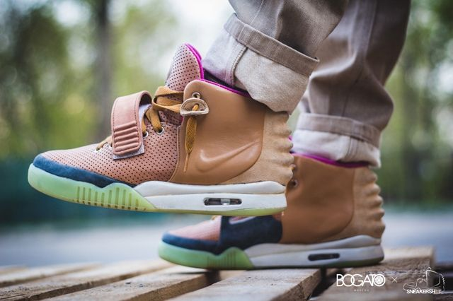 Nike Air Yeezy 2 Custom Maggi 8
