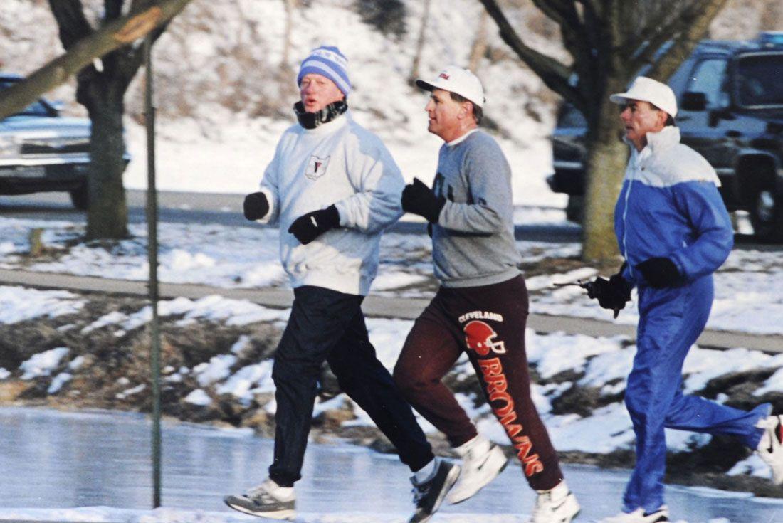 Running For President Bill Clinton Nb 1500 Winter