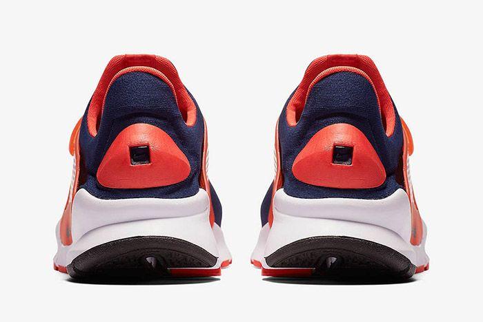 Nike Sock Dart Navy Orange 2