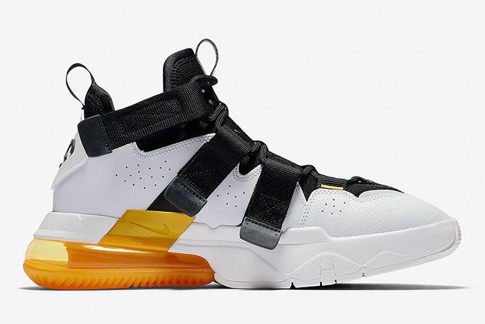 Nike Air Edge 270 Black White Gold Inside