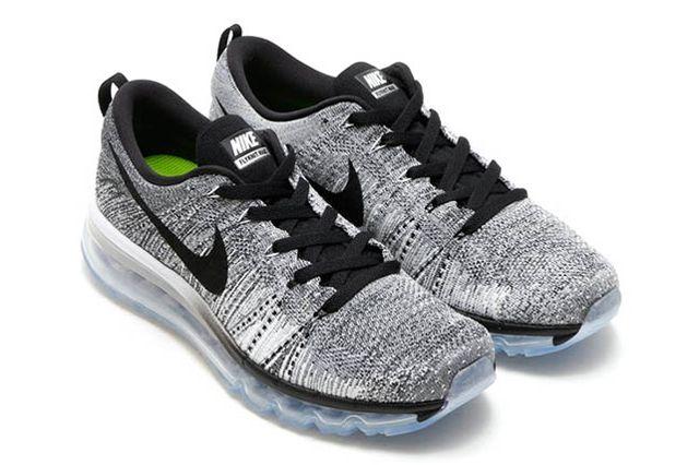 Nike Flyknit Air Max Cool Grey Wolf Grey