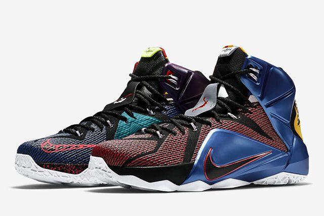 Nike Lebron 12 What The12