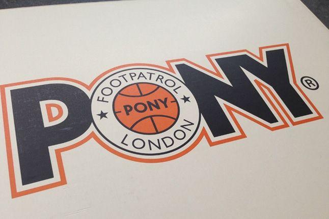 Footpatrol Pony Topstar Box Insignia 1