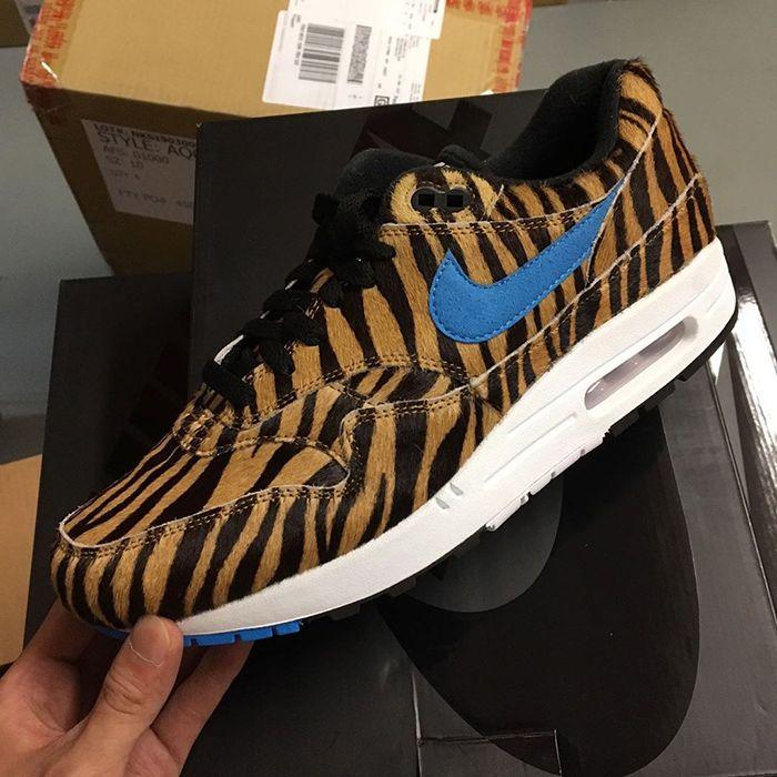 Atmos Nike Air Max 1 Animal 3 Tiger