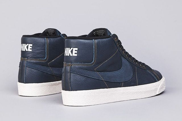 Nike Sb Blazer Elite Classic Charcoal 4