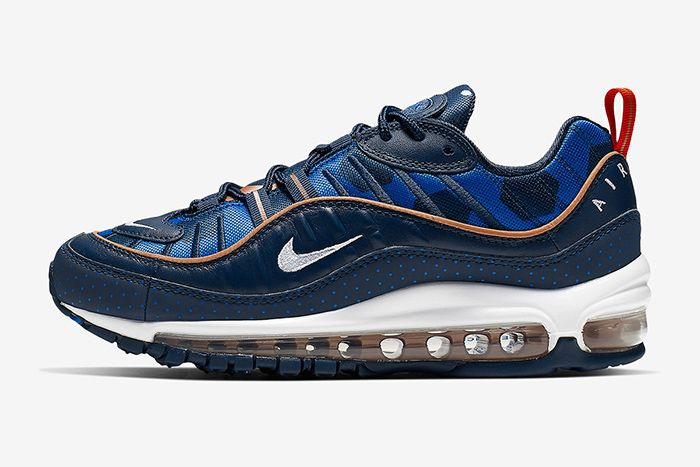 Nike Air Max 98 Polka Dot Ci9105 400 Release Date Lateral