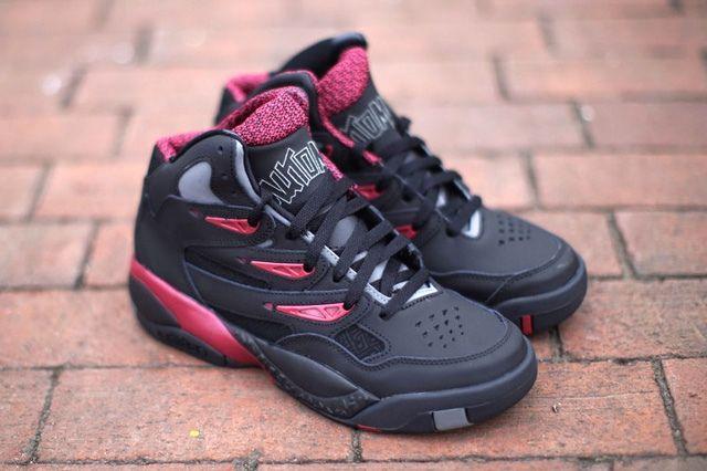 Adidas Mutombo 2 Black Burgundy Thumb
