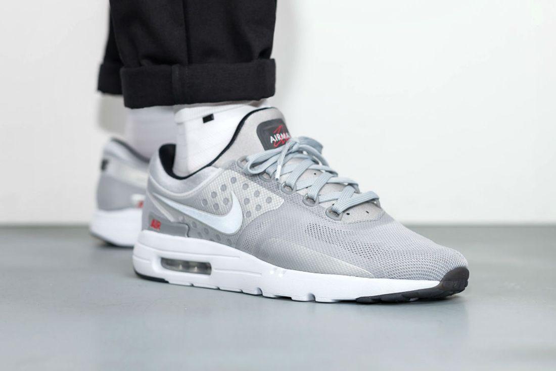 Nike Air Max Zero Metallic Silver13