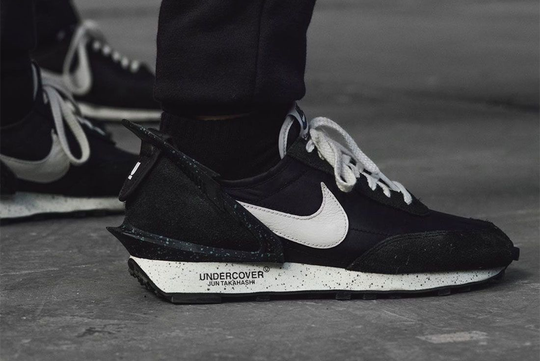 Nike Undercover Daybreak On Foot Lateral Side Shot
