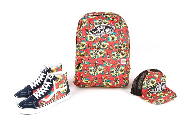 Vans X Star Wars Yoda Aloha Accessories Collection