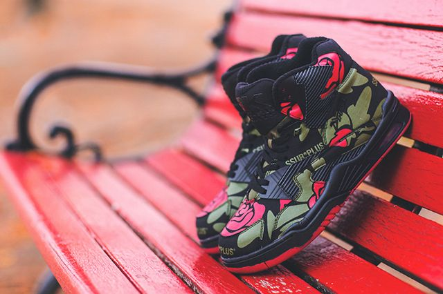 Ssur X British Knights Control Hi Rose Camo