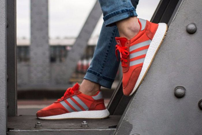 Adidas Iniki Runner Womens Energy Red 1