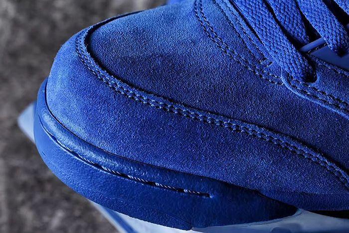 Air Jordan 5 Blue Suede5