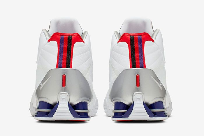 Nike Shox Bb4 Raptors Cd9335 100 Heels