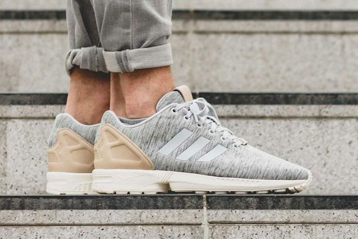 Adidas Zx Flux Solid Grey 6