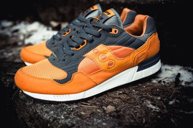 Saucony X Solebox Three Brothers Part 2 Pack Orange Angle 1