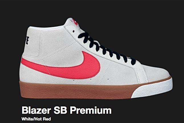 Nike Hot Red Blazer Sb 2009 1