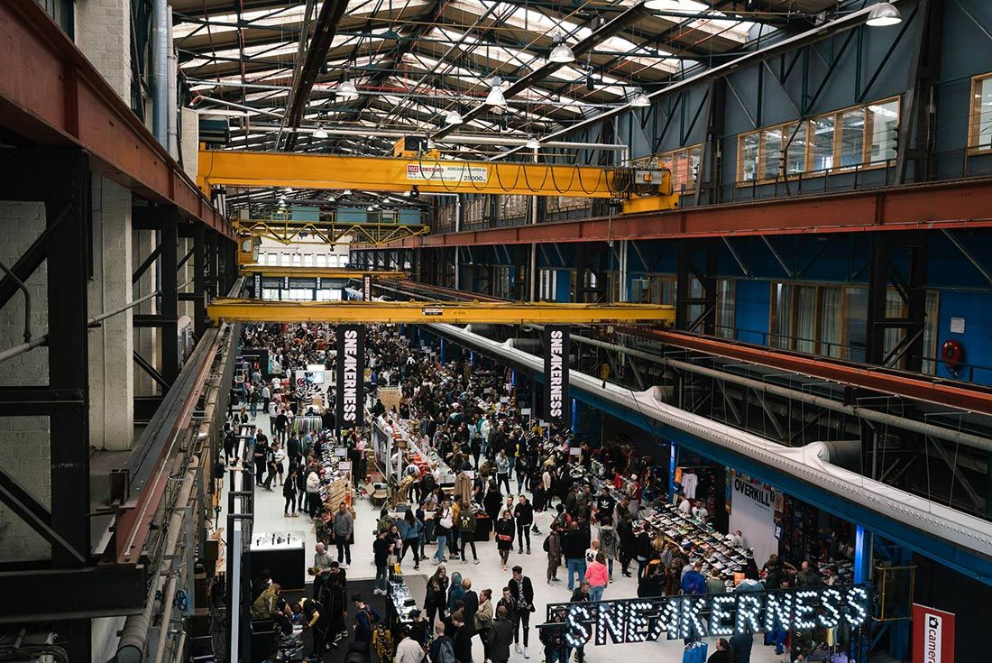 Sneakerness Amsterdam Above Shot