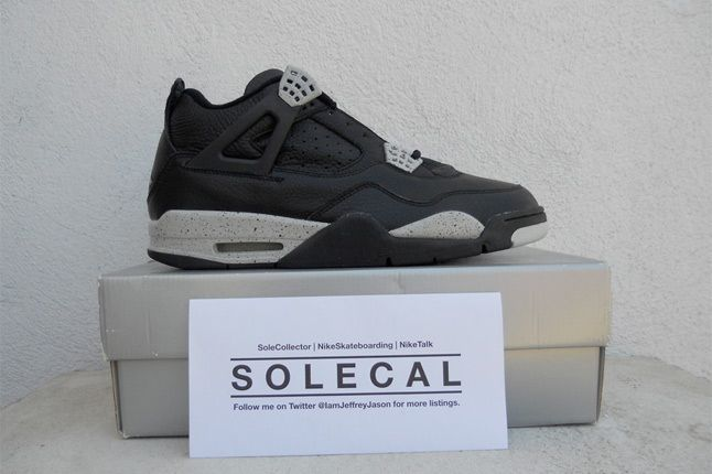 Air Jordan Iv Black Speckle 2