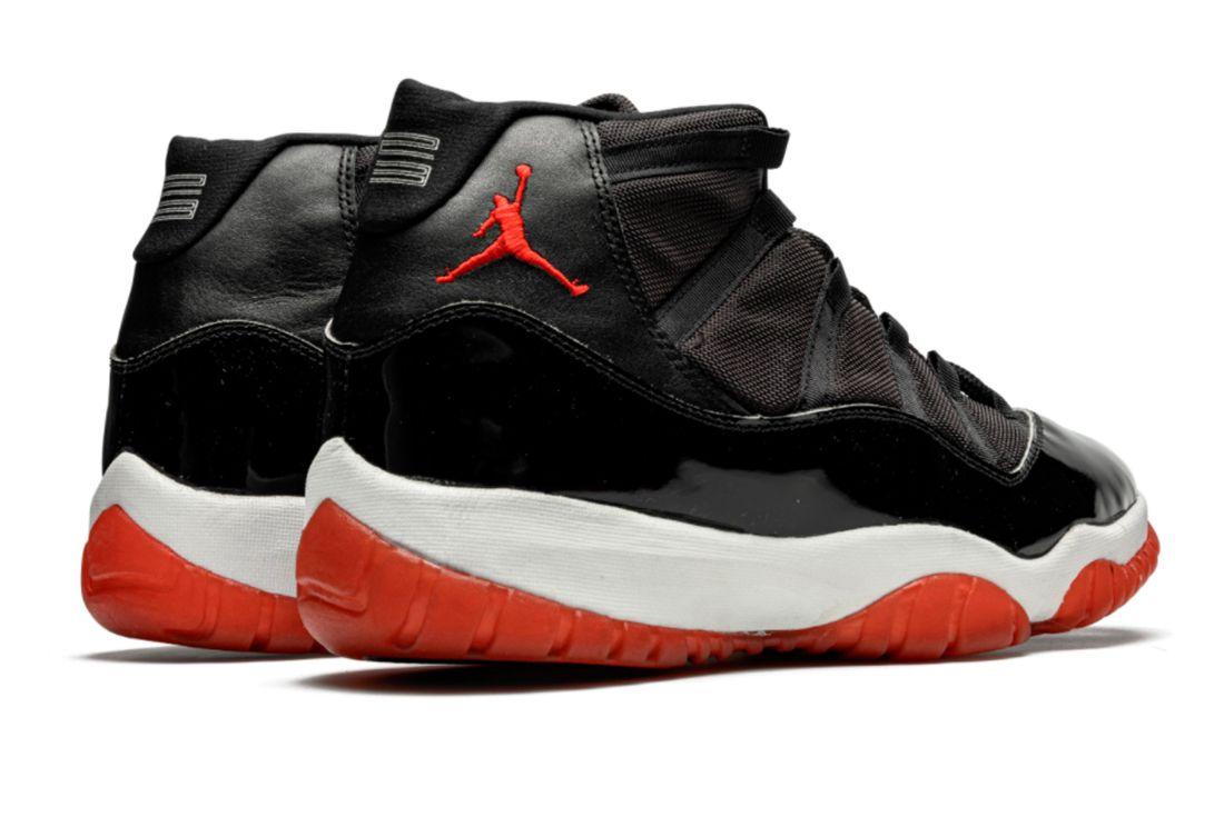 Air Jordan 11 'Bred' Player Exclusive Heel